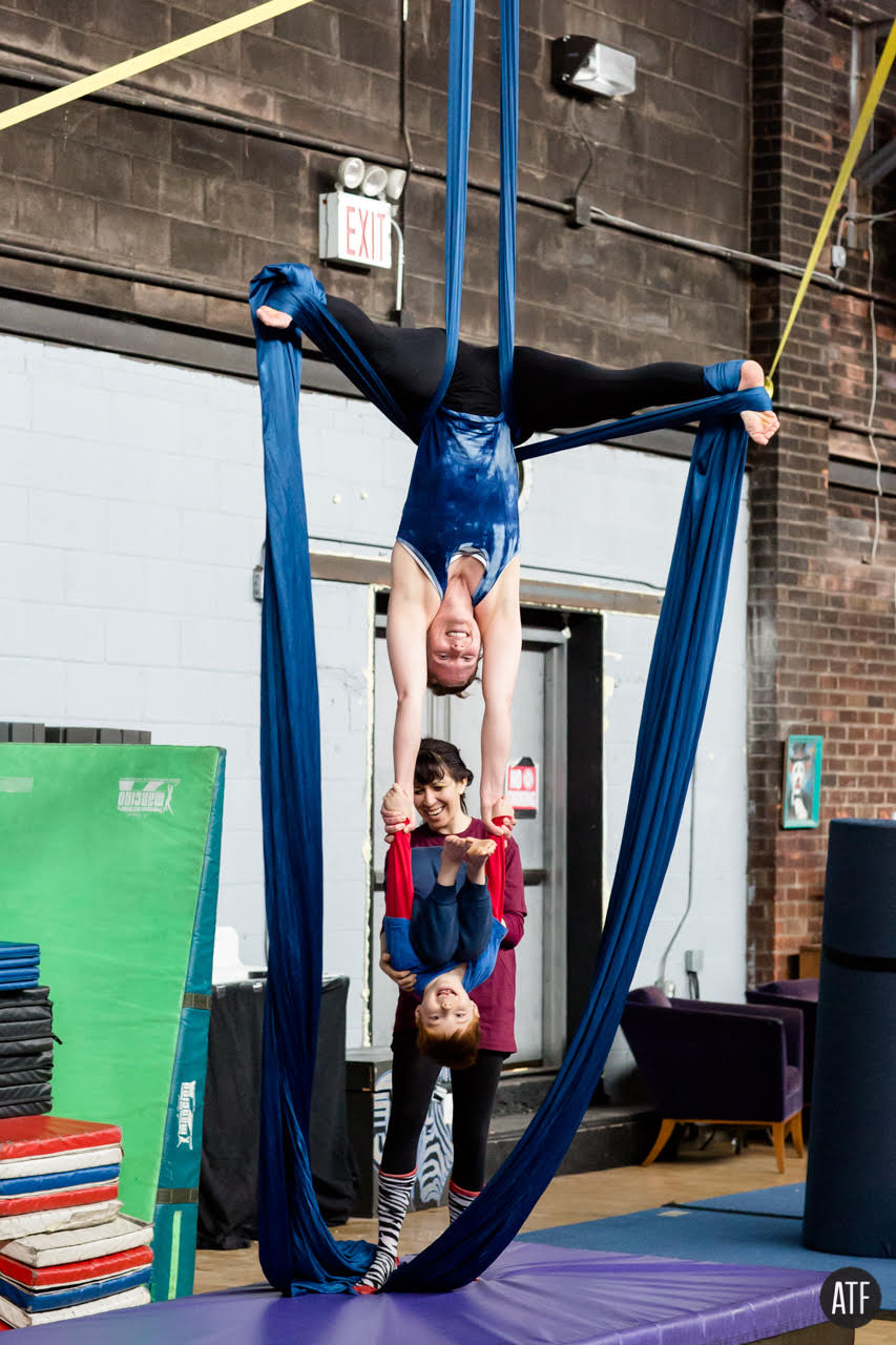 Circus NYC Brooklyn New York Kids Circus Class