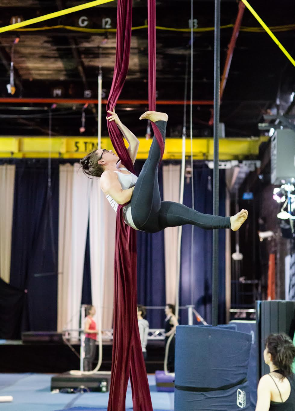 Dare To Try NYC Circus Silks Student