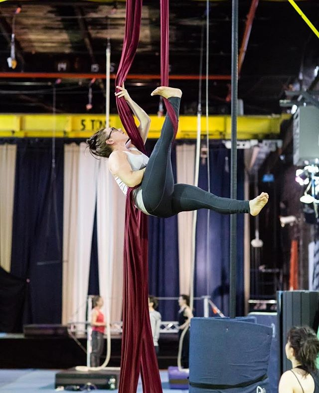 """Are you up for a challenge? Have you ever seen a high-flying acrobat and thought: """"I could never do that."""" Well then let us challenge you to try our #DareToTryChallenge !  This could be the opportunity to take yourself to new personal & professional heights! We hope to see you at our circus soon! ⠀ The Muse Brooklyn's #DareToTry Challenge is an intensive for beginners of all levels to build those circus chops. You'll receive  a customized circus track to elevate your strength, skills, and most importantly, your confidence -- and have a lot of fun to boot! ⠀ ⠀ Register For The Program By Clicking The Link In Our Bio! ⠀ ⠀ #MyHeartBeatsCircus #Circus #TheMuseBrooklyn #MuseItOrLoseIt #DareToTryChallenge #DareToTry"""