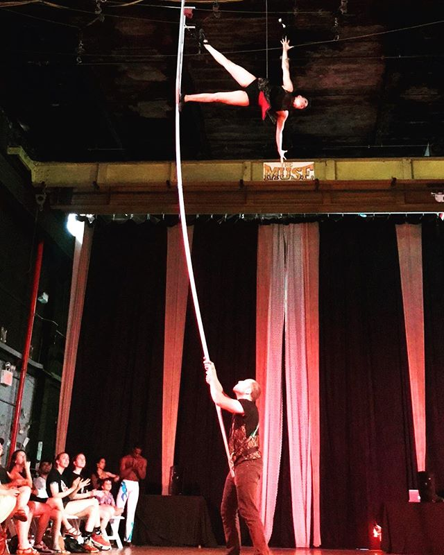 "Elevate your circus skills to a career-focused level, in The Muse Brooklyn's ""Raising the Bar"" Pre-Professional Intensive Program! This is a three-month commitment that ensures each participant meets their highest potential possible while preparing them for the real world of training, auditioning, and performing.⠀ ⠀ Click the Link In Our Bio To Register Today!⠀ ⠀ #MyHeartBeatsCircus #Circus #TheMuseBrooklyn #MuseItOrLoseIt #RaisingTheBar"