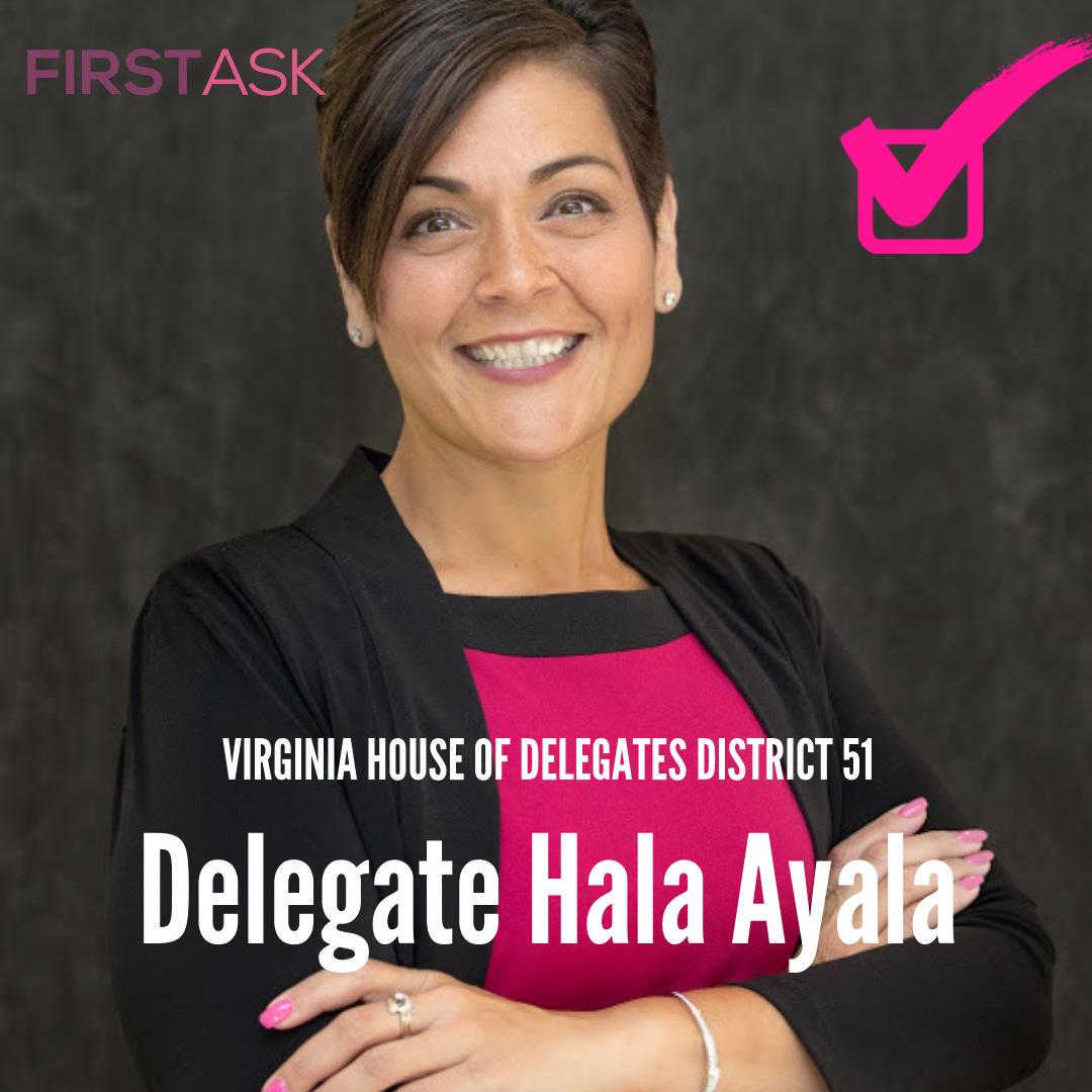 Delegate Hala Ayala- Virginia House of Delegates District 51, VA