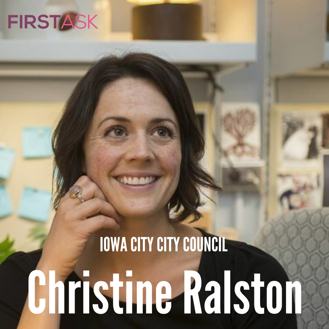 Christine Ralston- 2018 Candidate for Iowa City City Council