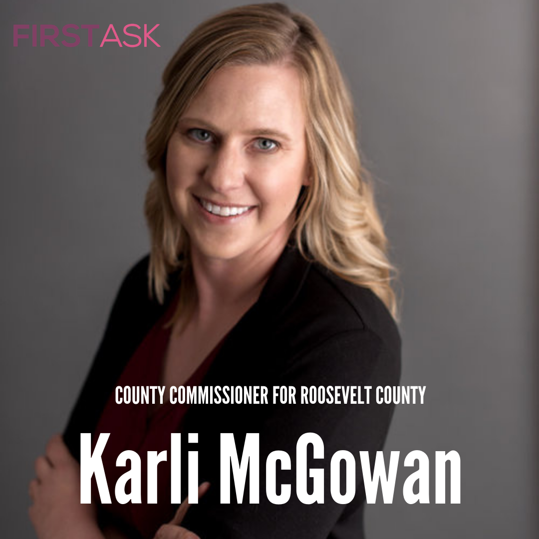 Karli McGowan - 2018 candidate for County Commissioner for Roosevelt County, MT