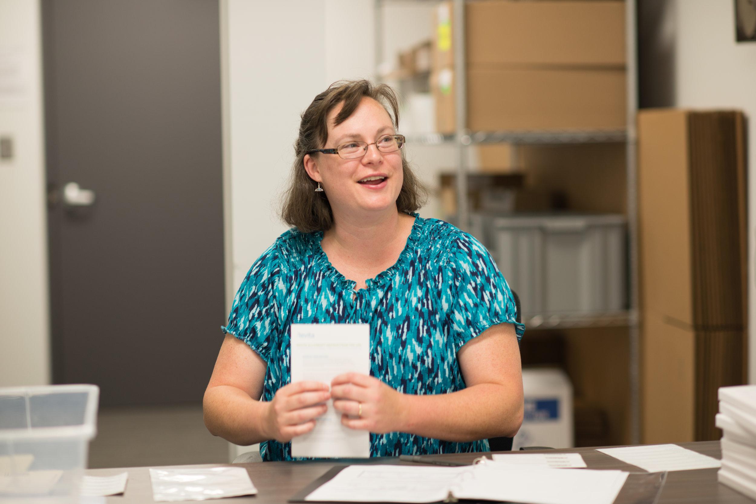 Christine Williams, Senior Quality Assurance Specialist