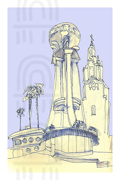 CAL01: Crossroads of the World, Los Angeles