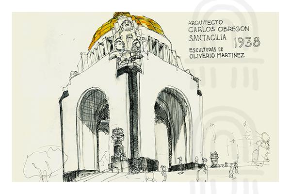 MX02: Monumento a la Revolucion, Mexico City