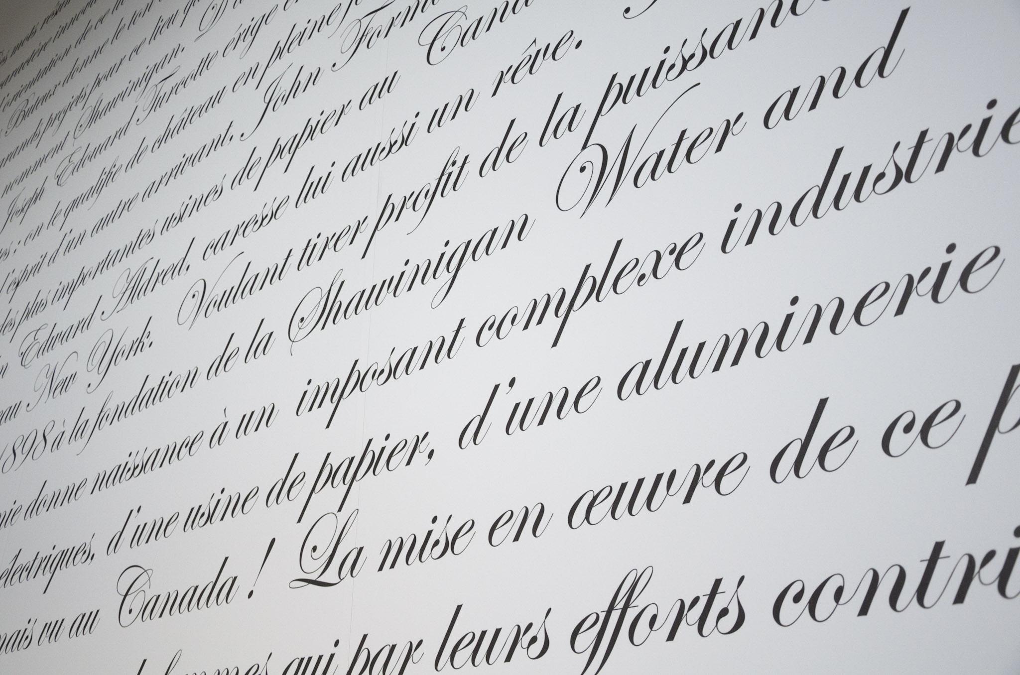 Texte hommage de M. Mario Lachance.