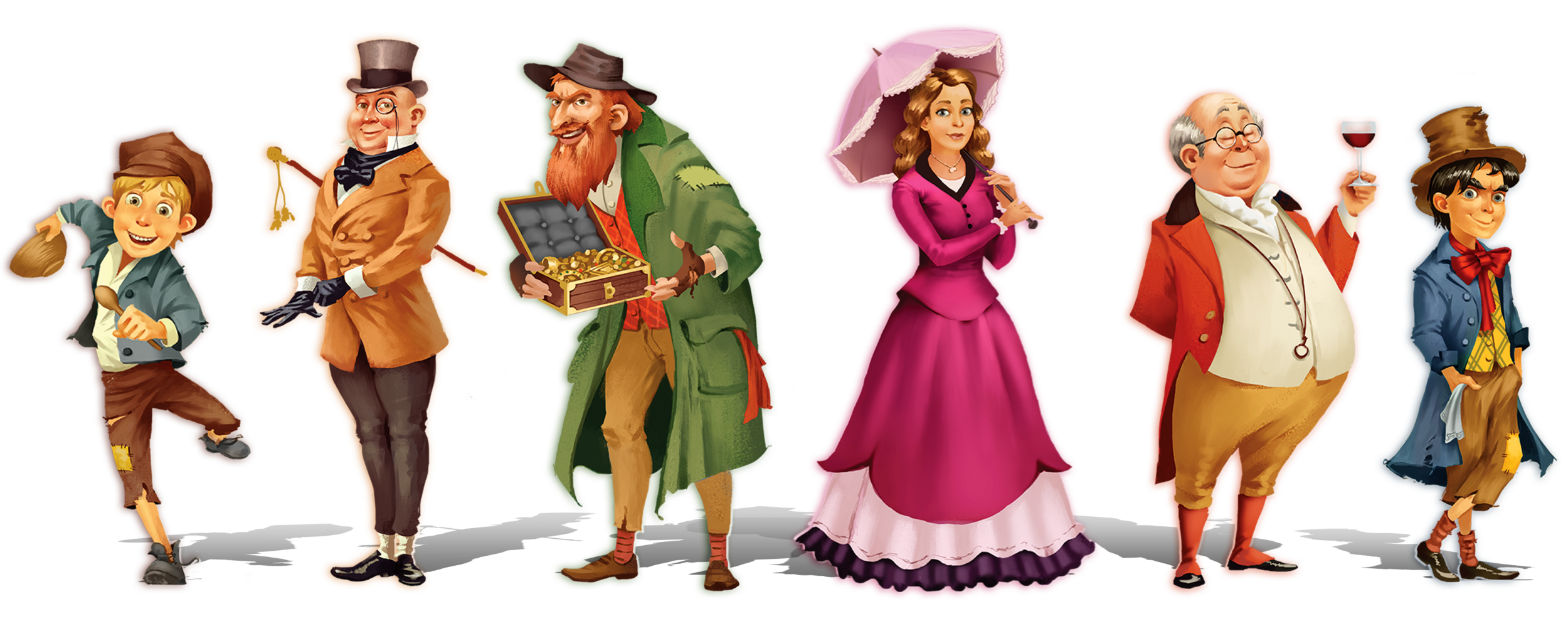 Scrooge The Board Game Characters.png