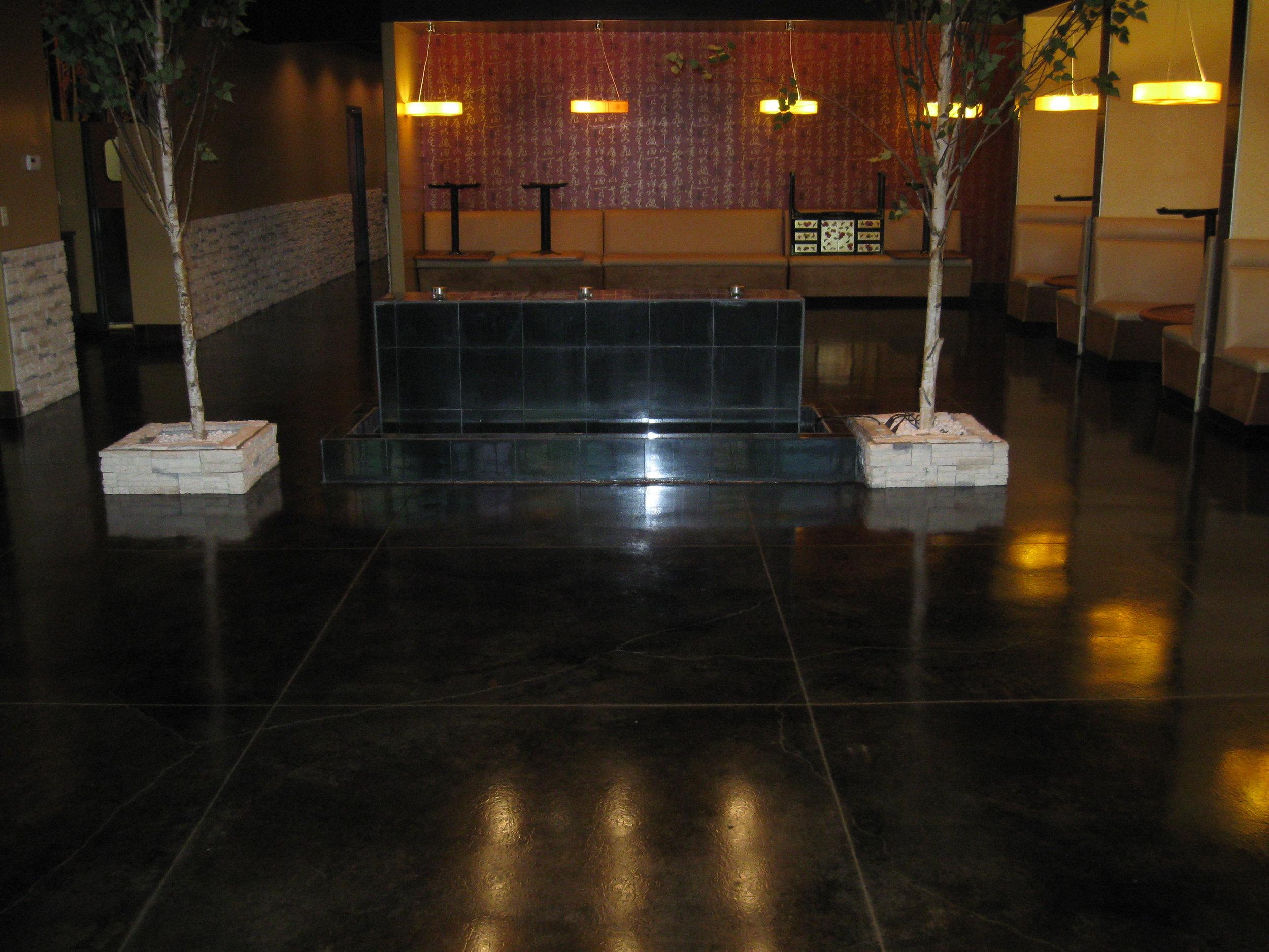acidstain floor