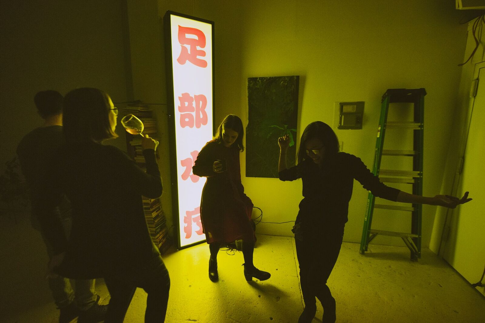 Pham dancing at The Building Show. Photo: Randall Bellows III