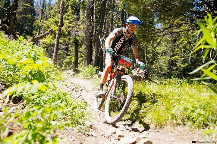 WNR Member Evan Plews riding the Mission: GranDuro course.