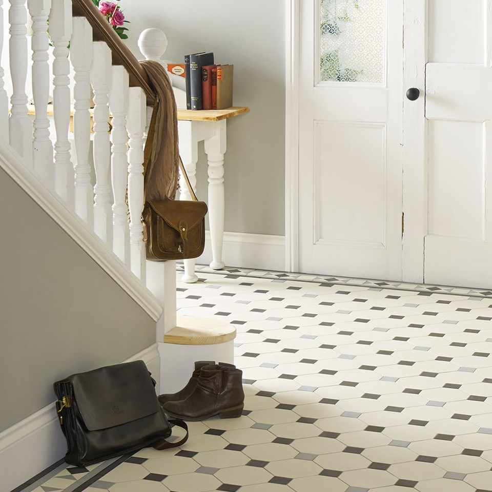 "Original Style, Victorian Floor Tiles, ""Nottingham"""