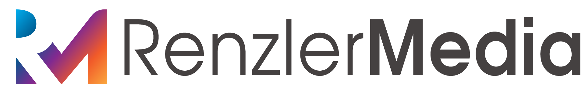 RenzlerMedia Color Logo White Text.png