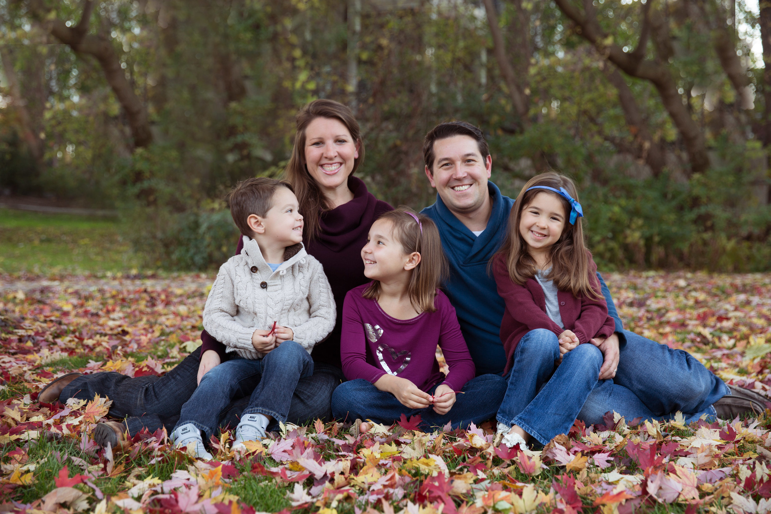rochester municipal park family session
