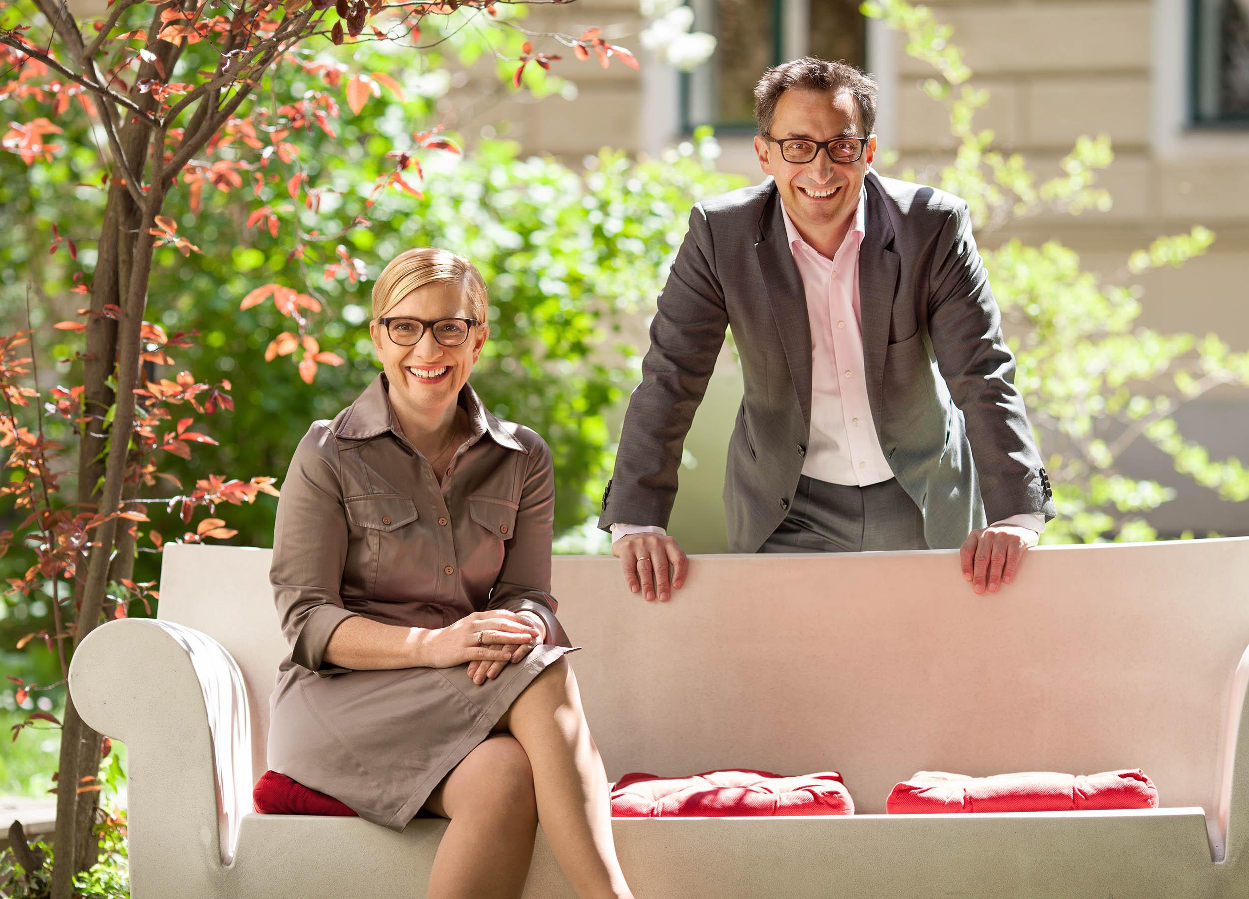 Nicole Bäck & Axel Zuschmann, Ecker & Partner