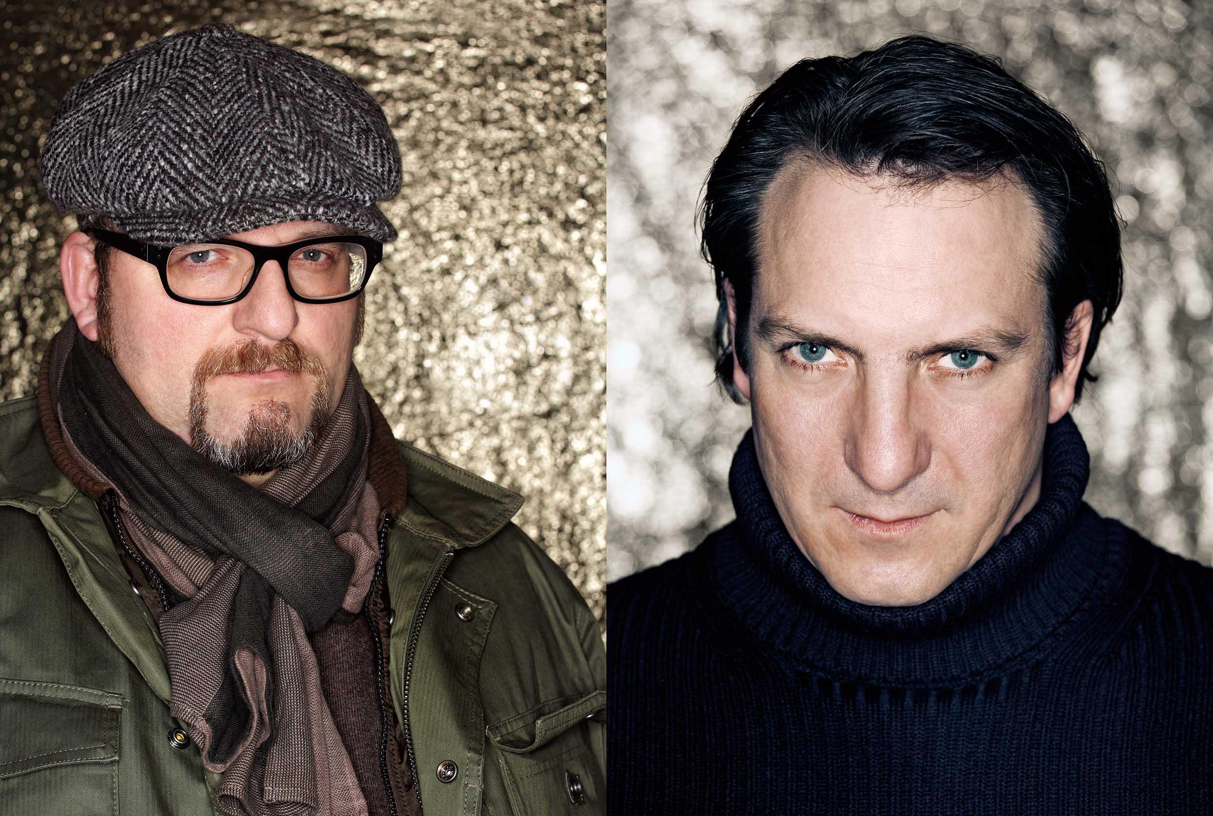 Anton Weiss, Regisseur (li),Robert Palfrader, Schauspieler (re)