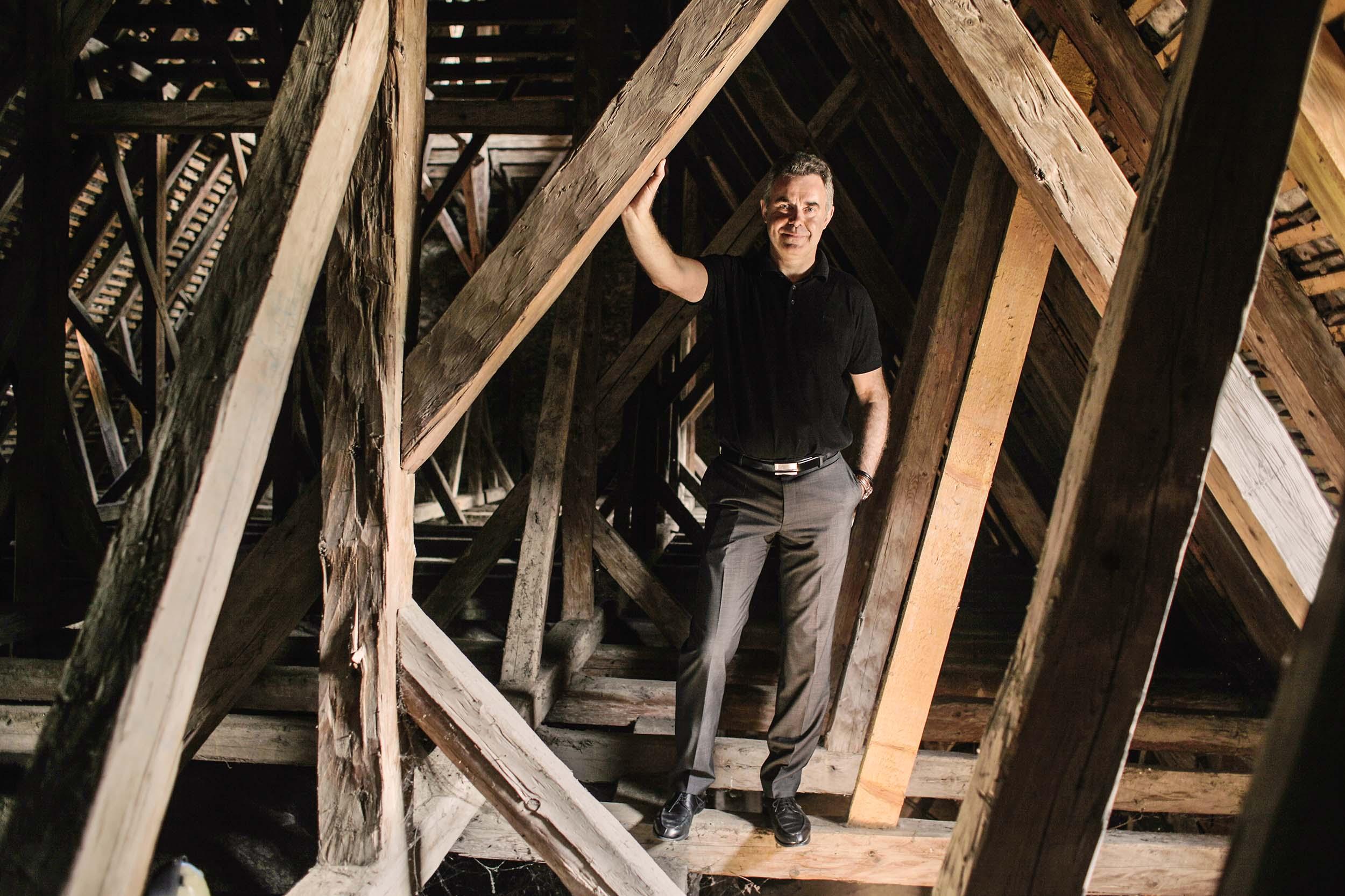 Thomas Tauber, Architekt