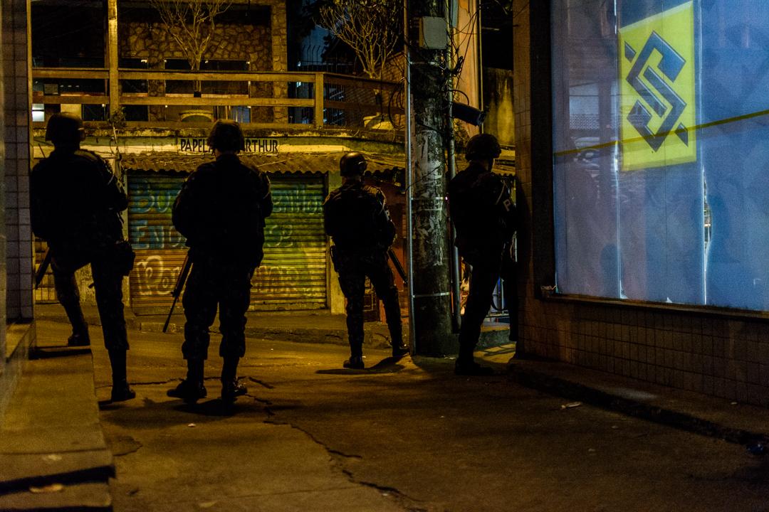 Brazilian Soldiers Rocinha