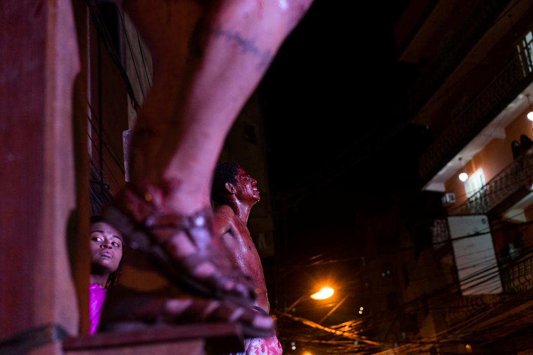Passion Play Rocinha Favela