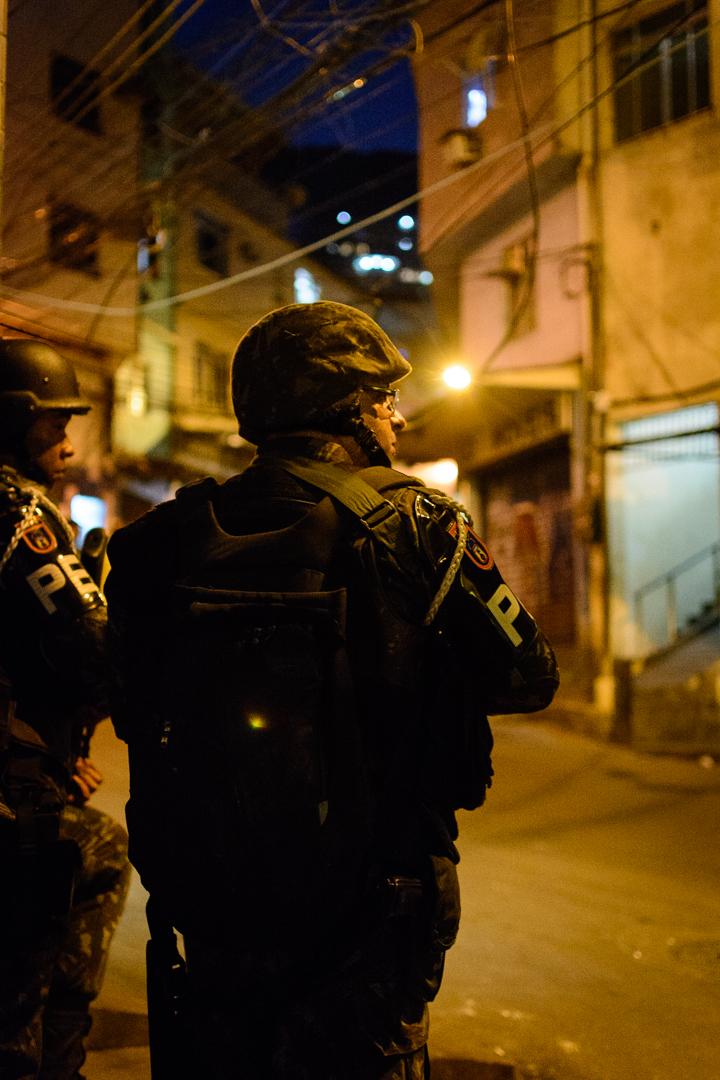 Soldiers, Rocinha Favela.
