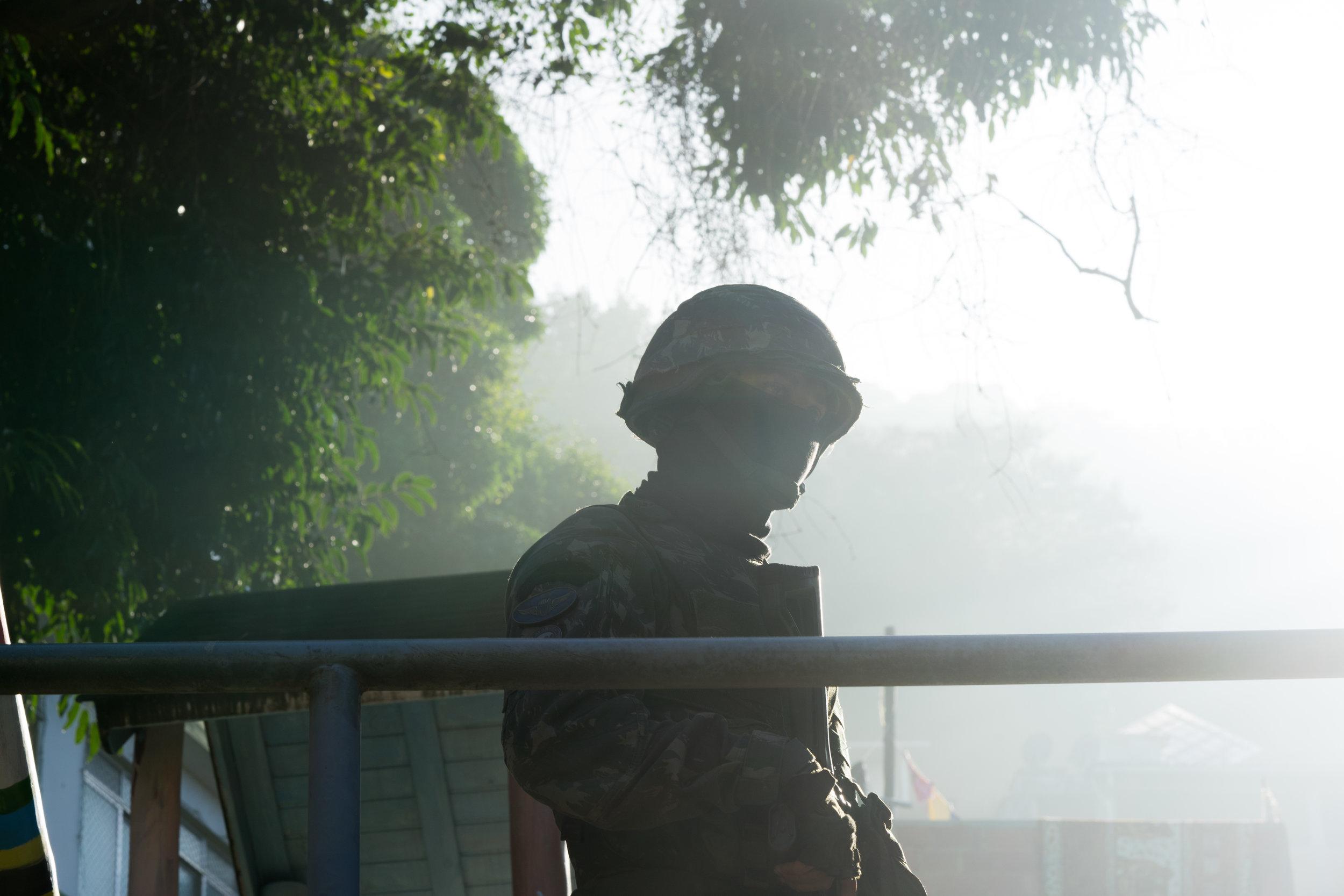 Brazilian Soldier in  Babilonia.