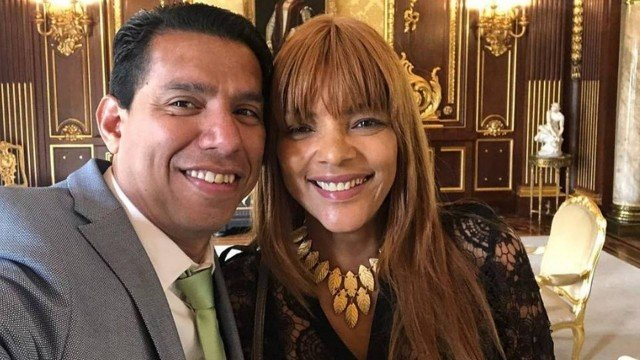 Pastor Anderson do Carmo and his wife, Federal Deputy Flordelis dos Santos Souza. (Photo: Social Media)