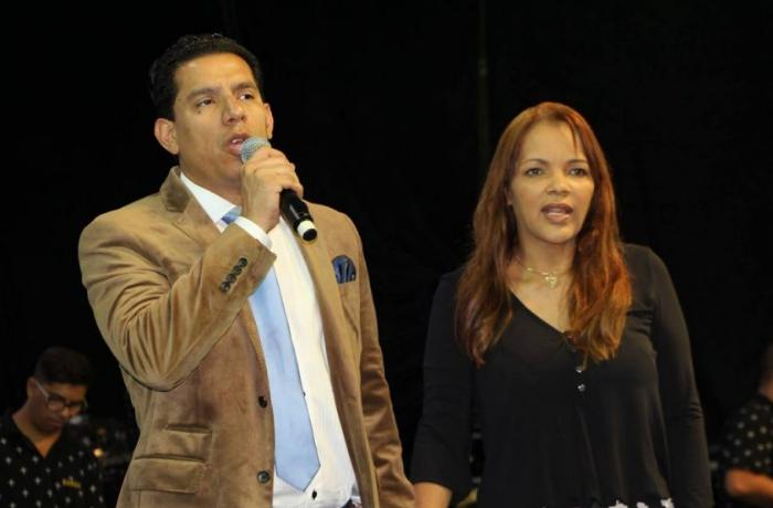 Anderson do Carmo and Flordelis dos Santos Souza (Photo: press divulgation)