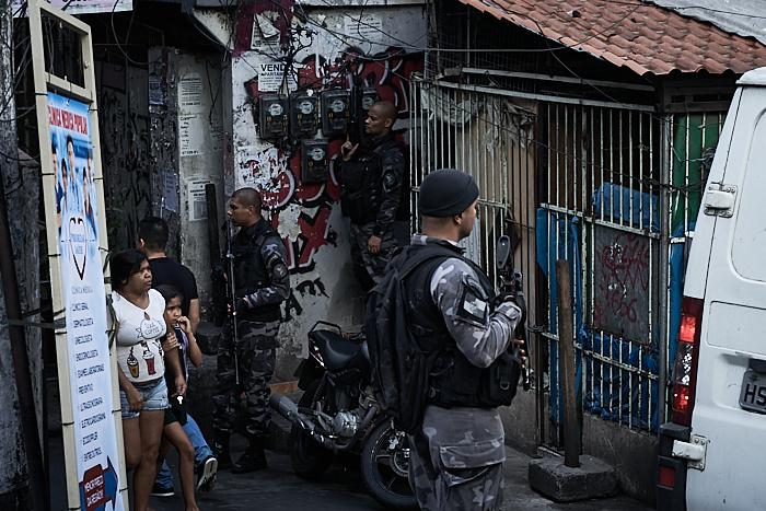 Rio's Choque battalion was responsible for the operation that killed Fernando Gomes de Freitas (Photo: C.H. Gardiner)