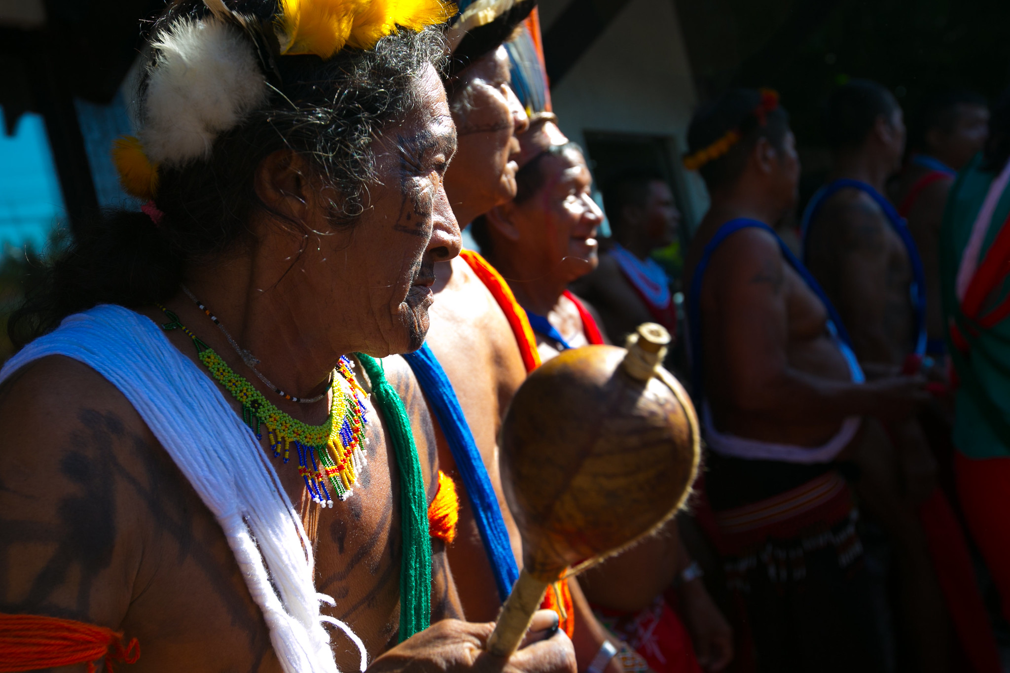 Native Brazilians of the Waiãpi Tribe (Photo: Liade Paula)