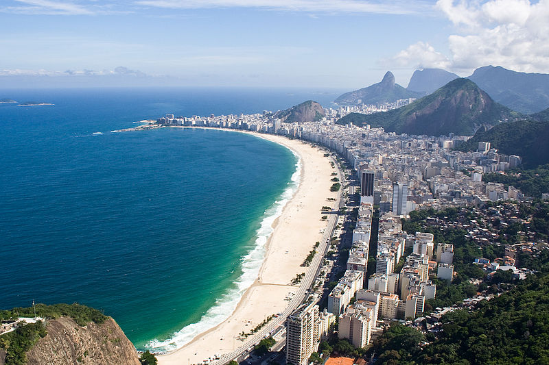 Copacabana and Leme were the neighborhoods which suffered the highest increase in petty crime (Photo: Wikipedia commons)