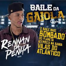 A flyer advertising a Baile Funk featuring Dj Renan da Penha