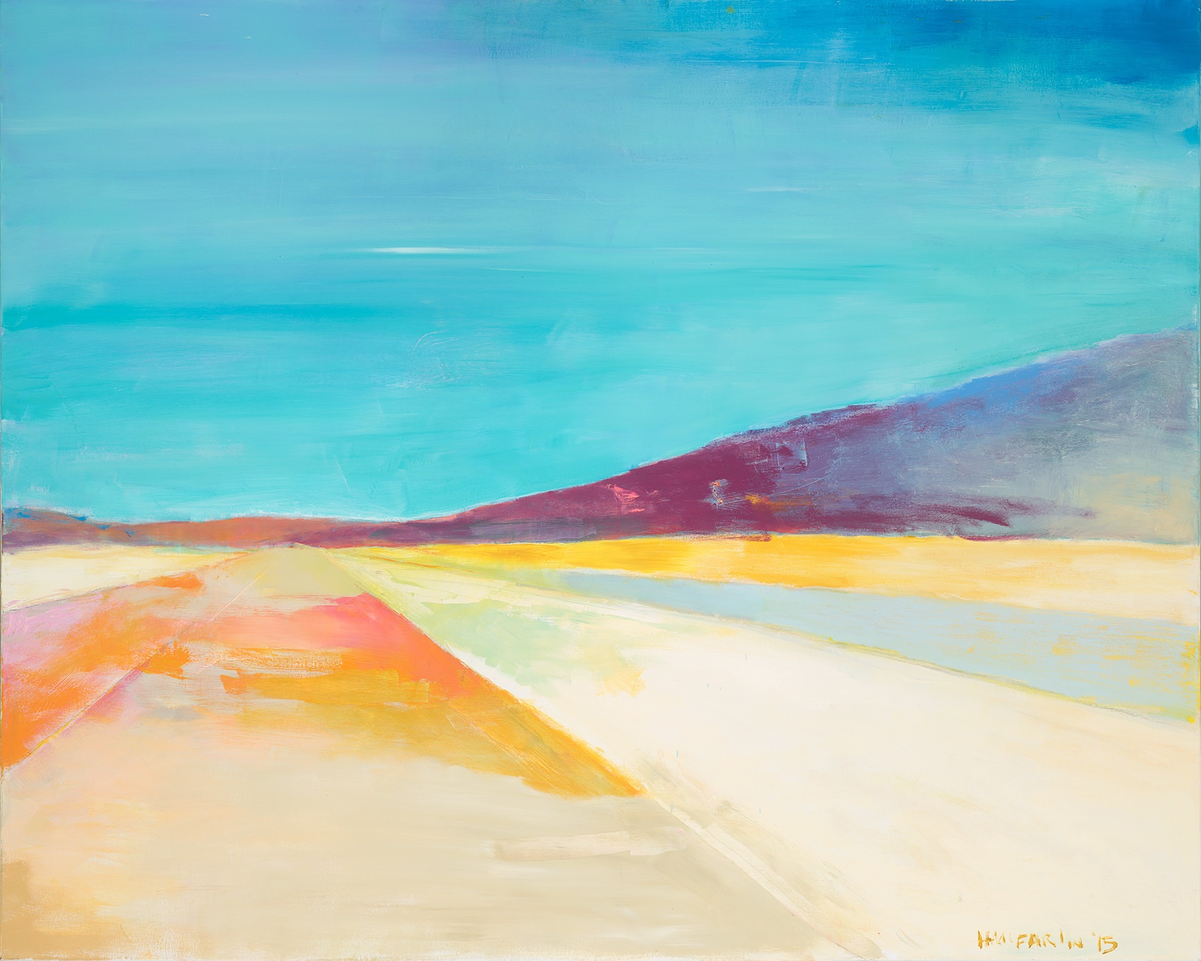 JOSHUA TREE - oil on canvas | 48 x 60 (sold)