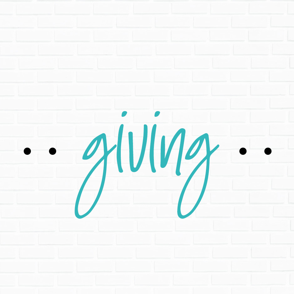 GIVING    Give tithes and offerings online, contribute to  Vision Builders  or pay for an event.    ONLINE GIVING