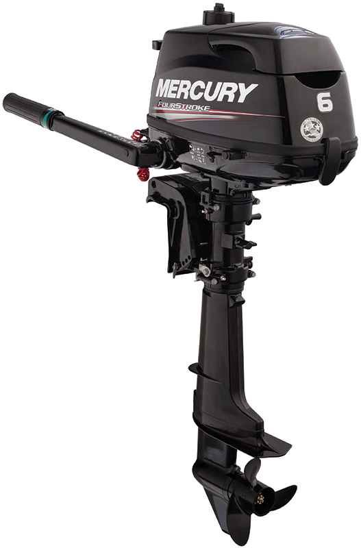 6 Horsepower - WOT RPM: 5000-6000Displacement: 7.5 cu in (123cc)Shaft Length: 15 inchesDry Weight: 57lbsStarting: Manual