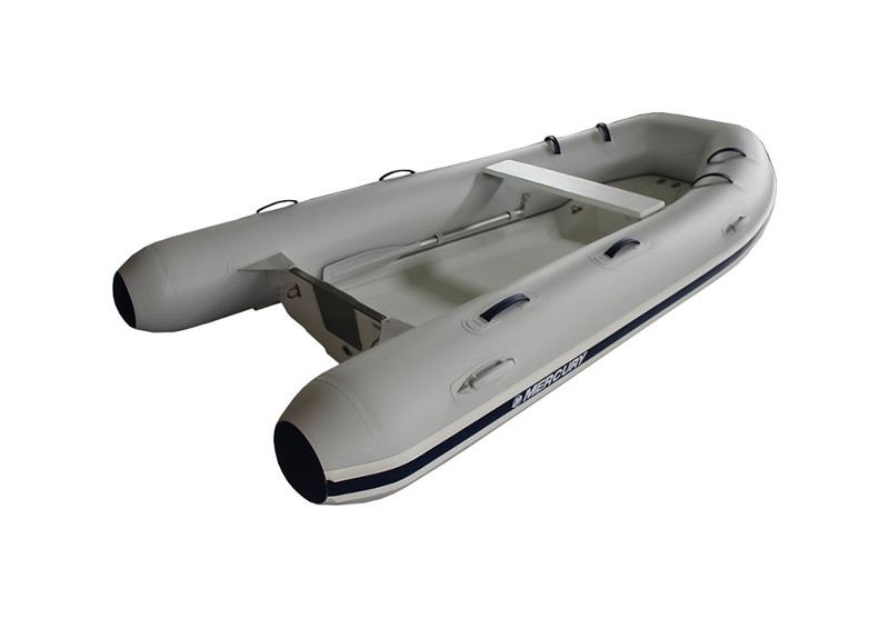 """350 Ocean Runner - Length: 11'3""""Weight: 194 lbsCapacity: 5 personsMaterial:PVCMax Horsepower: 25"""