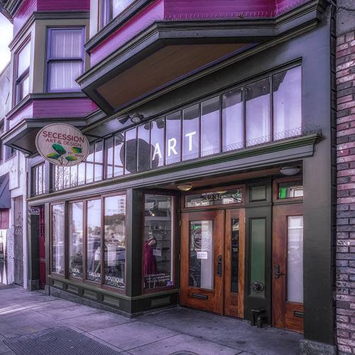 Thank you to Donald Kinney for the rosy photo of our gallery and boutique!