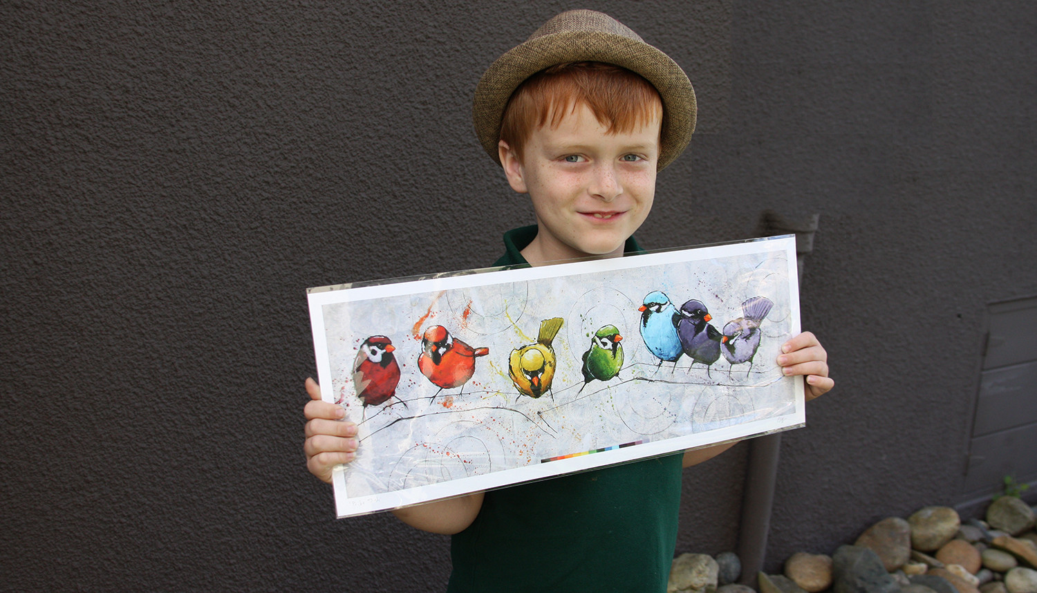 Pride Birds  print by Josh Coffy