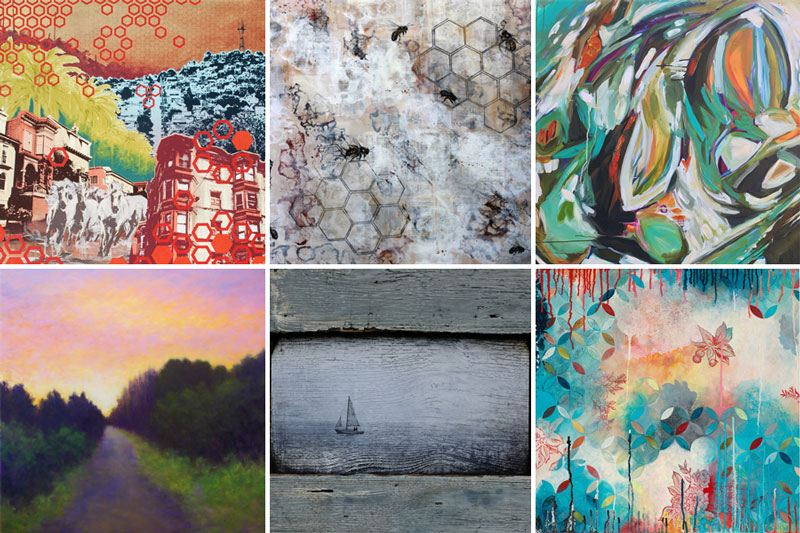 Art by  Hilary Williams ,  Shannon Amidon ,  Rachel Znerold   Victoria Veedell ,  Su Evers ,  Heather Robinson