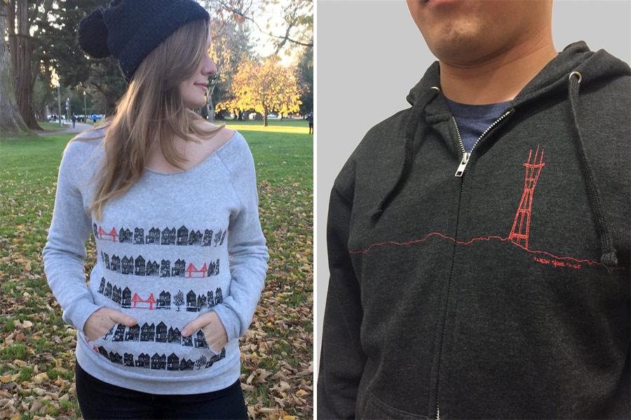 Sweatshirt by Animal Instincts, hoodie by New Skool
