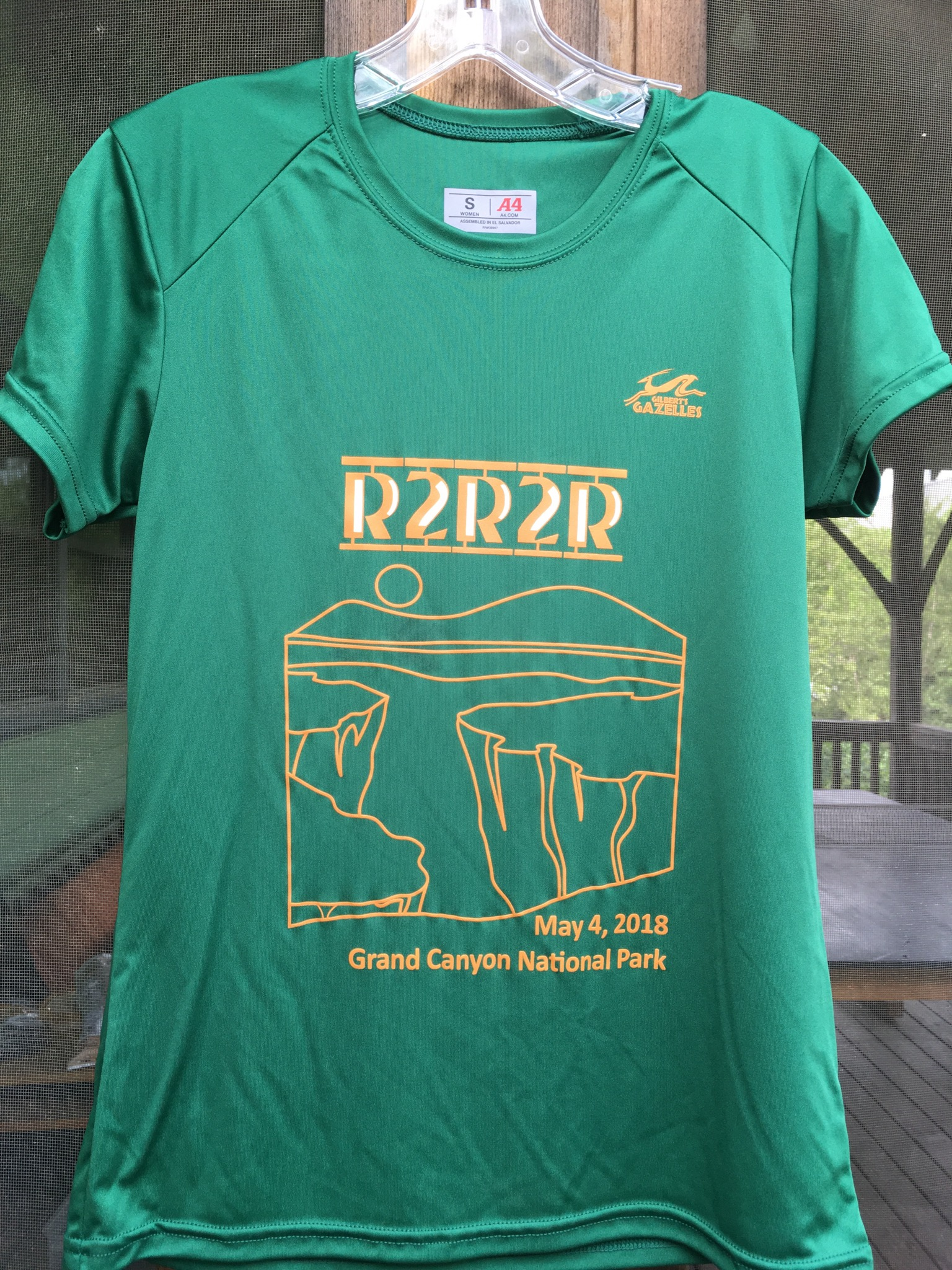 Shirt and slogan designed by Murphy Reed