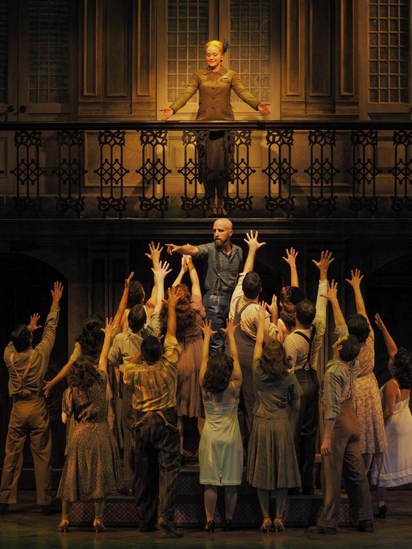 Evita. ZACH Theatre. Props Artisan. 2016.