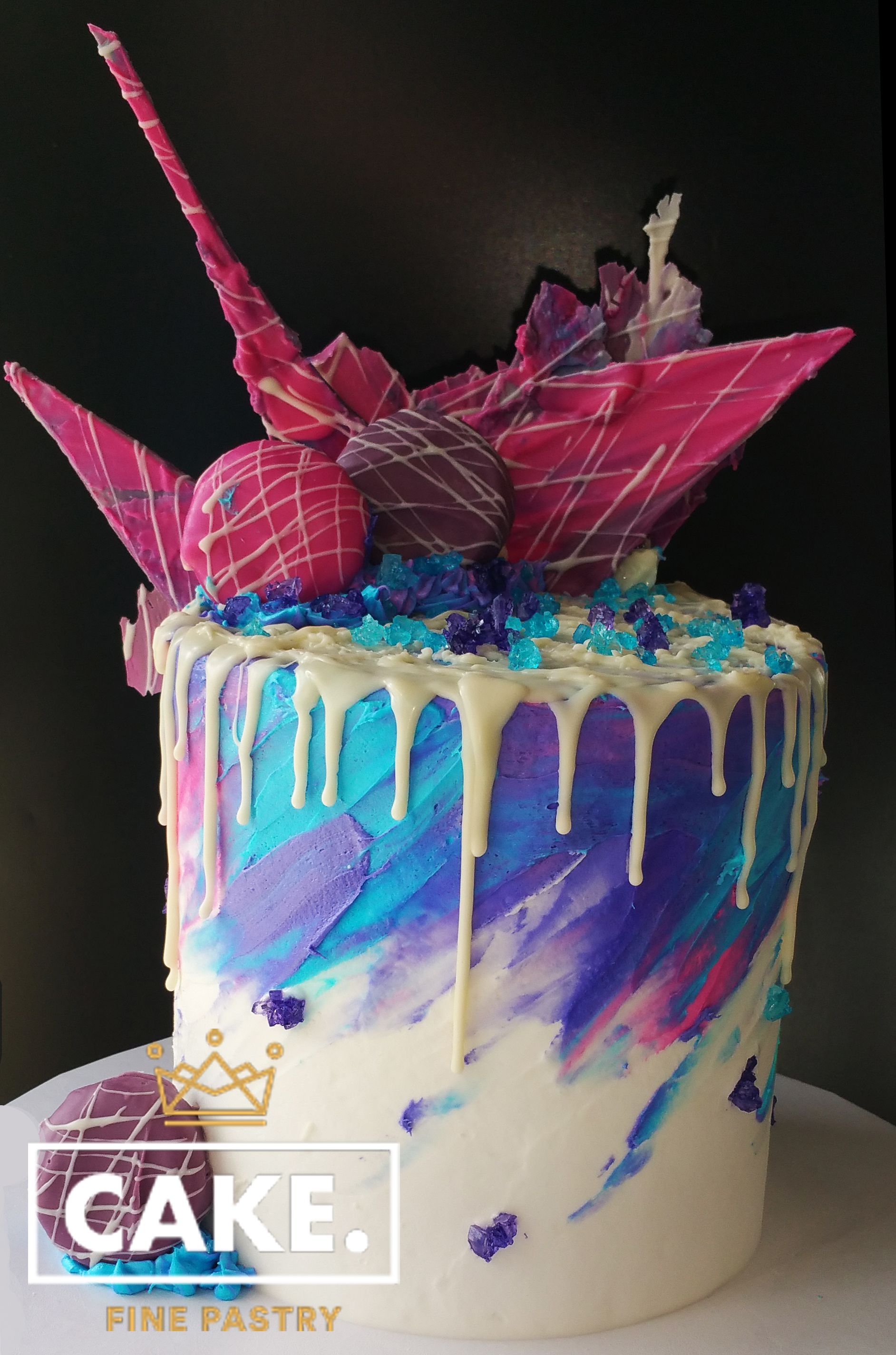 Abstract Art Cake