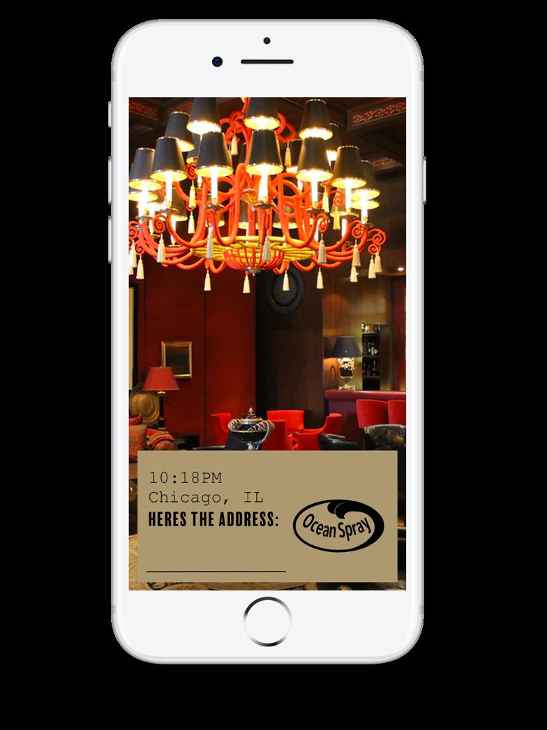 Social filter for location of speakeasies.