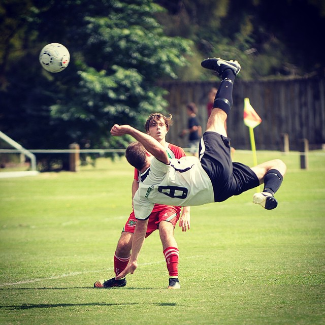 That time my little bro scored the winning goal with a bicycle kick ... #soproud #football #bicyclekick