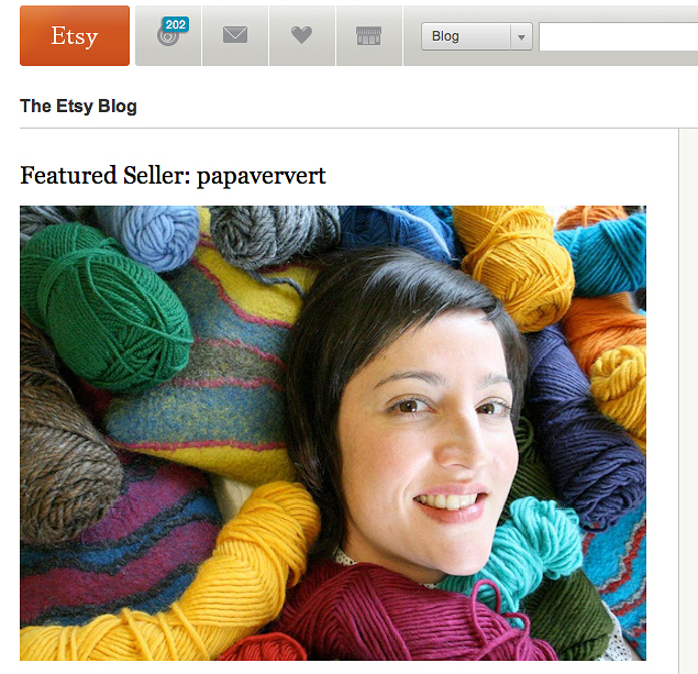 Etsy, March 2009