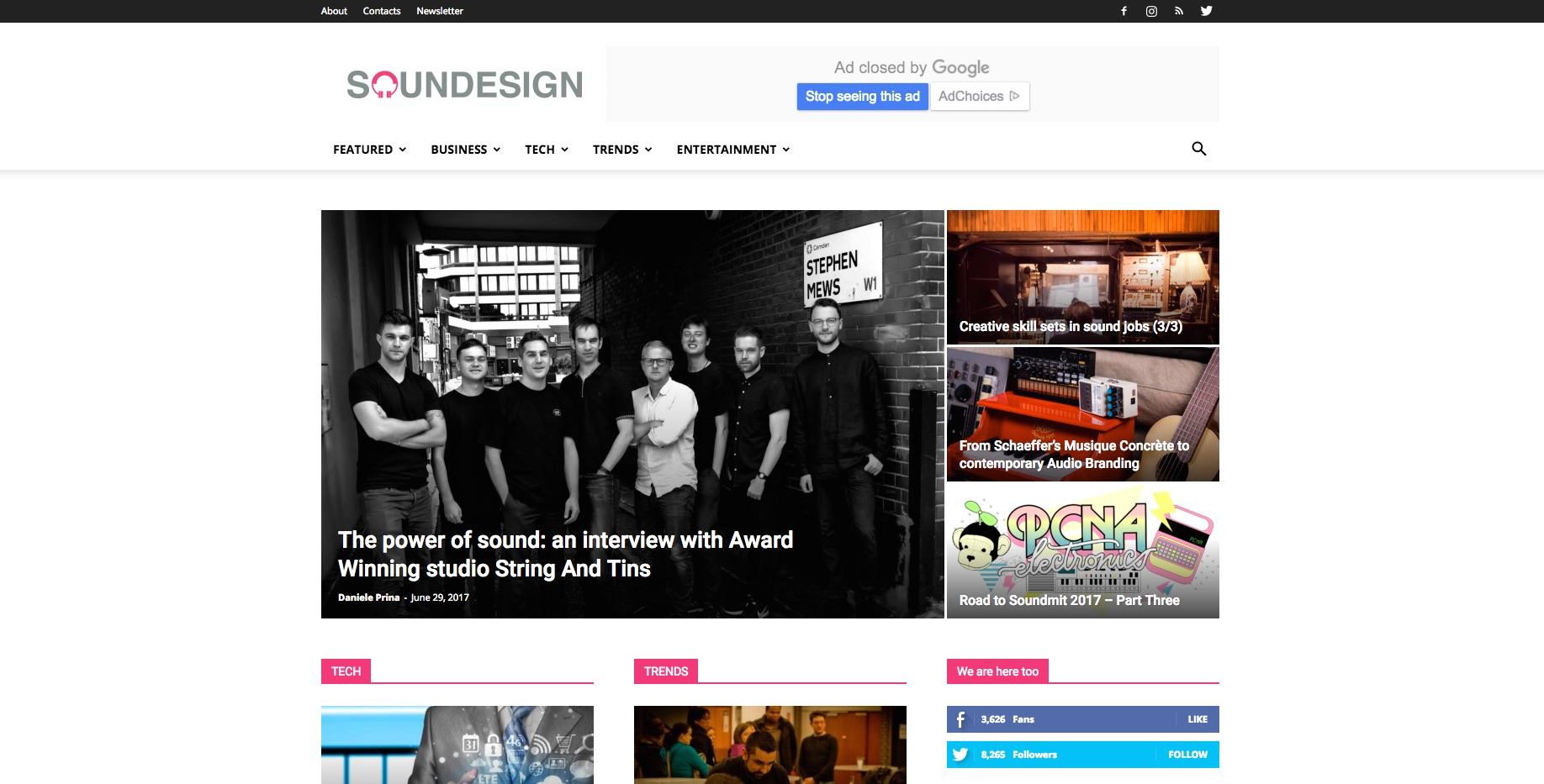sounDesign Magazine