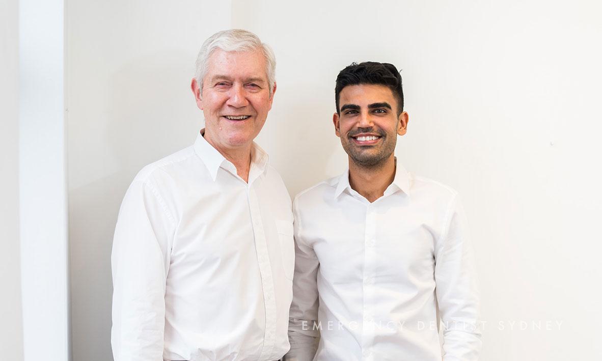 Pictured: Dr David Graham & Dr Amrinder Oberoi