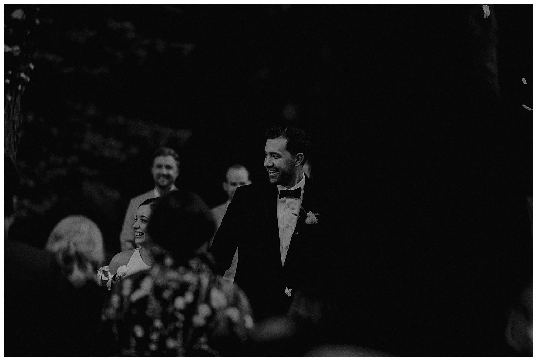 romantic backyard wedding