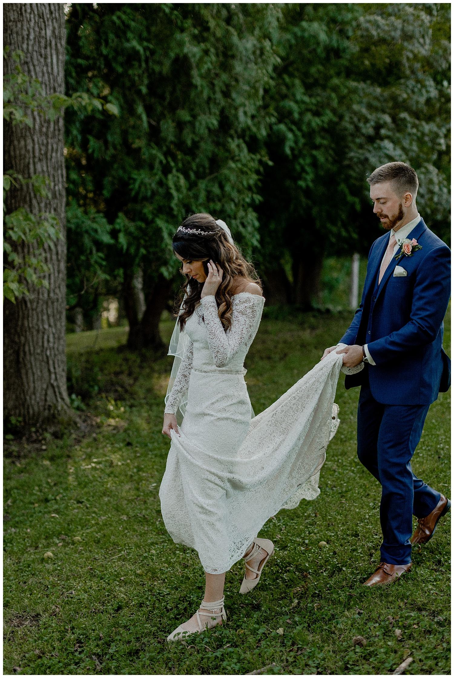 boho glam wedding photos