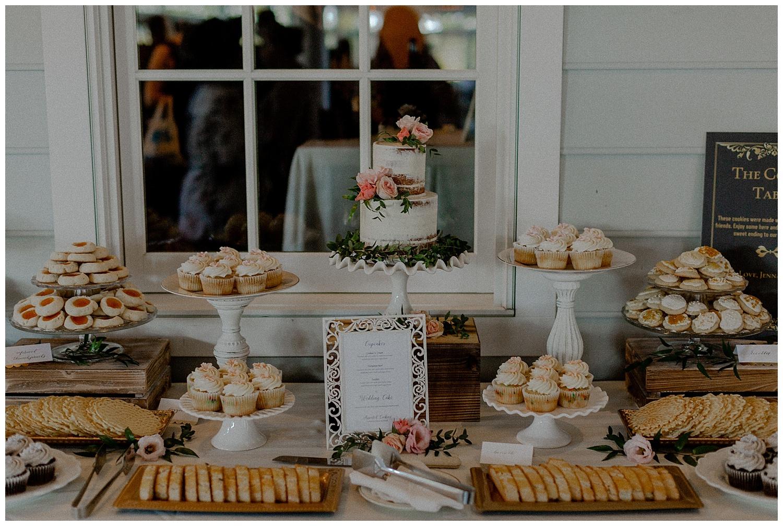 romantic wedding desserts
